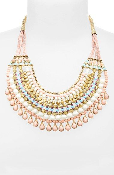 BP. Beaded Collar Statement Necklace - Nordstrom