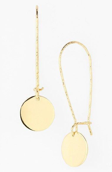 Disc Drop Earrings - Nordstrom