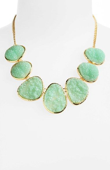 Stephen & Co. Glitter Stone Necklace - Nordstrom